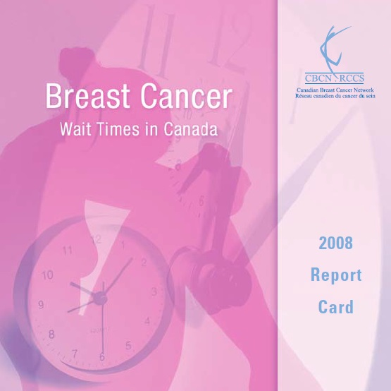 Breast Cancer Wait Times 2008